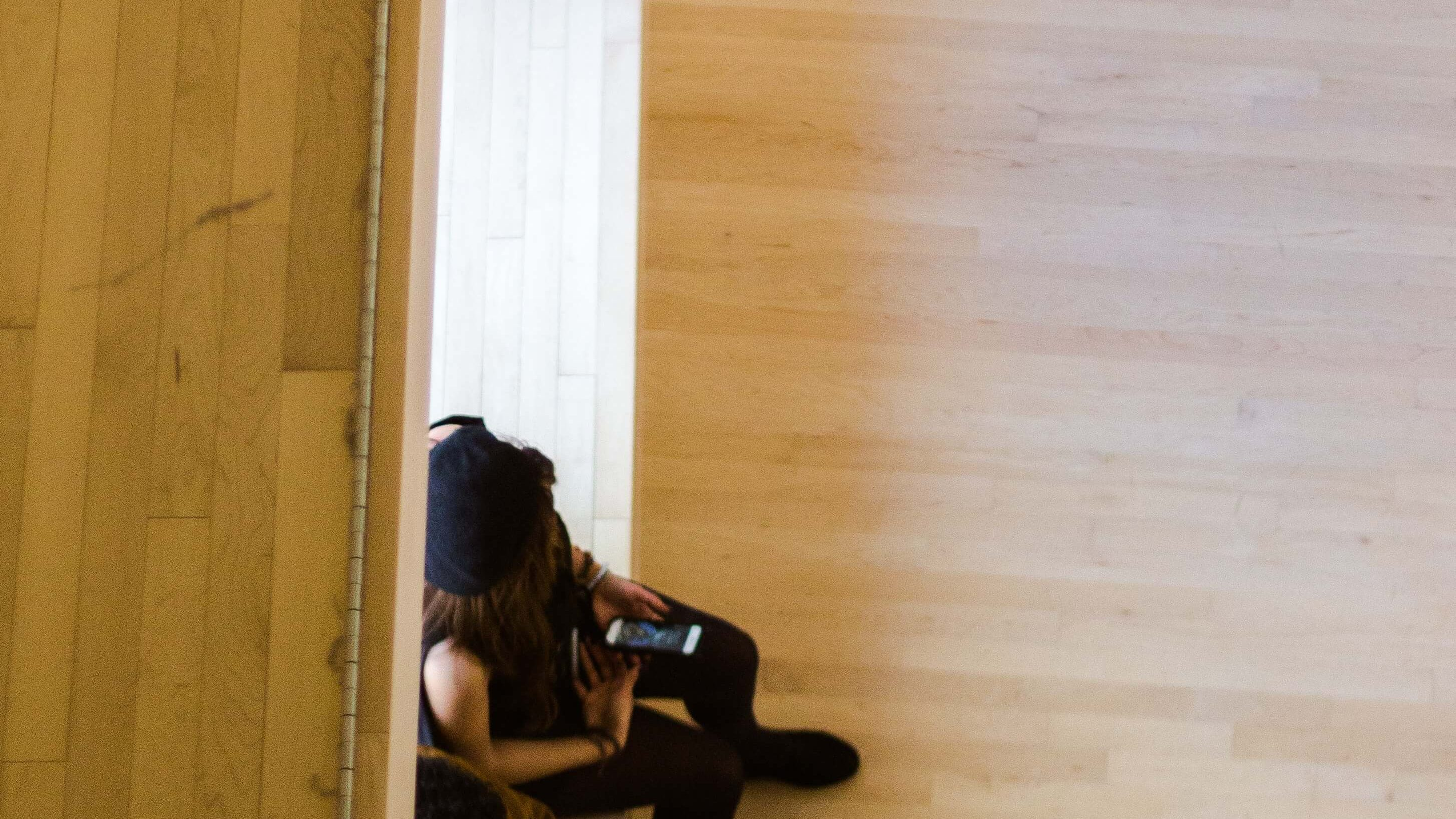 lawyers sitting down at a dance studio