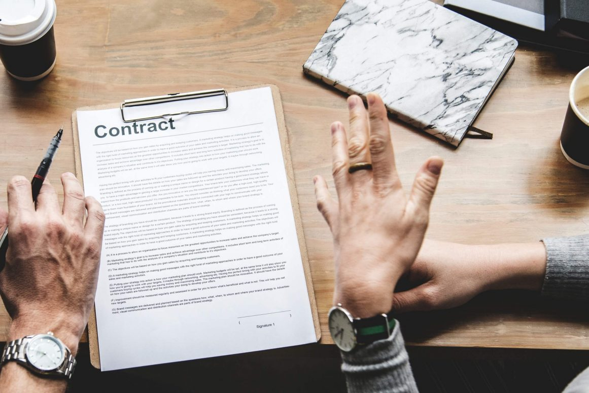 lawtrades Restrictive Covenant contract